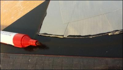 Ausschneiden von Formteilen aus thermoelastischem Kunststoff.