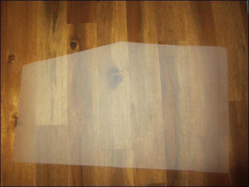 Haidate: Schnittmuster für den Oberschenkelschutz
