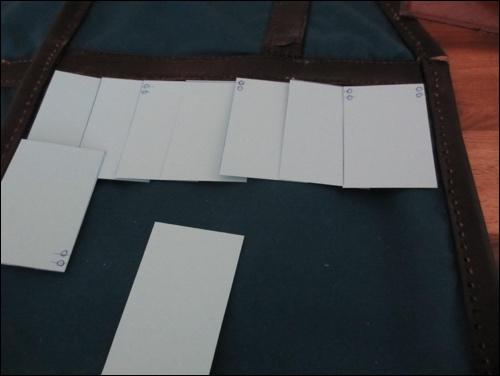 Planung der Anzahl der Lamellen und des Besatzes