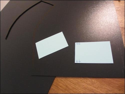 Die Thermoelastischen Kunststoffplatten und das Grobmodell der Lamellen