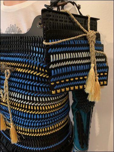 Sode - die Schulterplatten der Samurai Rüstung